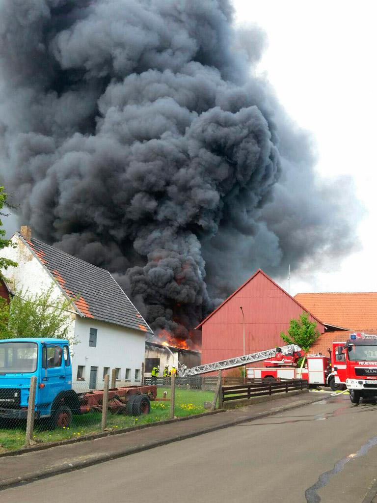 nach schwerem brand in speckswinkel