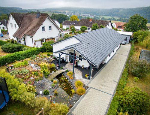 Drohnen Immobilienfotos für die Firma Philipp Bartelmess GmbH