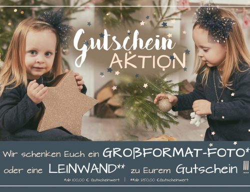 Große Gutschein AKTION zu Weihnachten