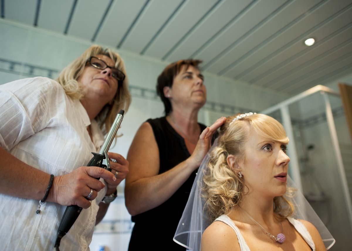 hochzeit vorbereitungen getting ready fotograf