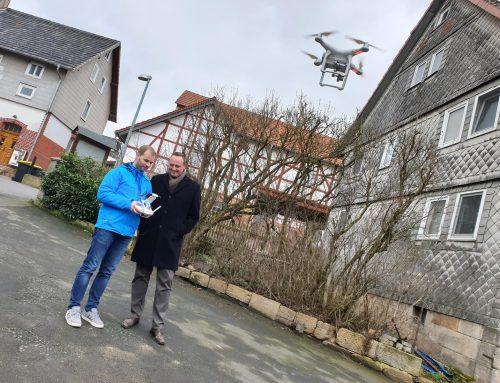 Immobilienfotos mit unserer Drohne im Vogelsbergkreis