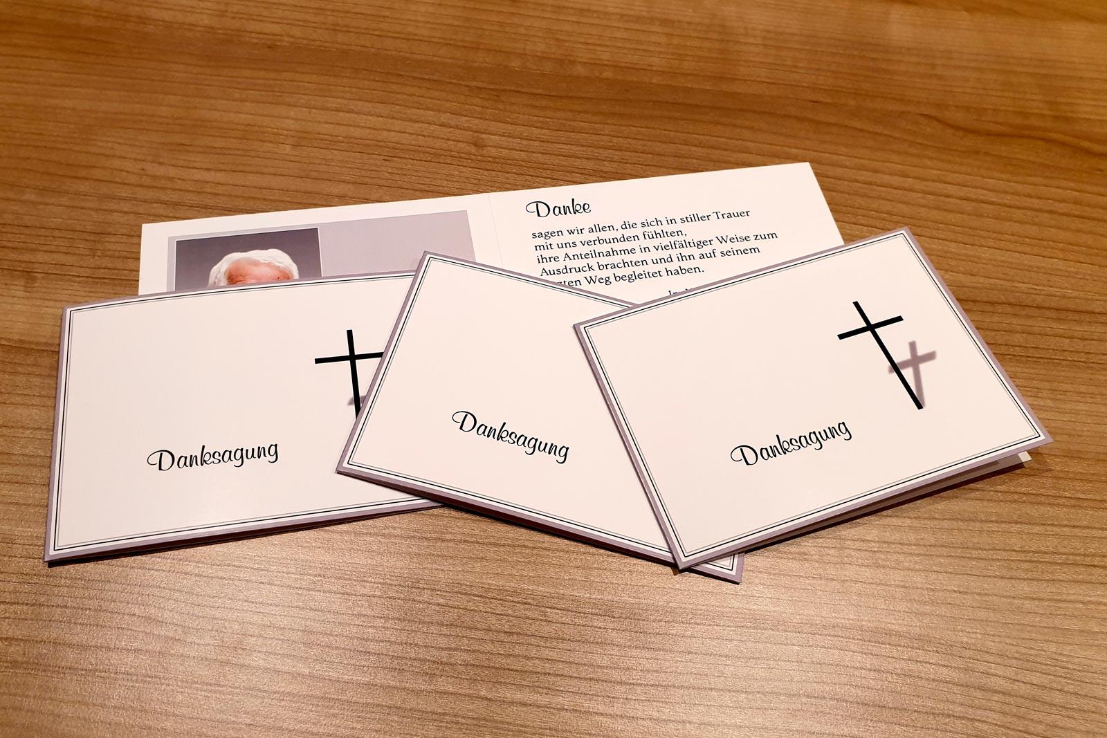 trauerkarten dankeskarten anteilnahme