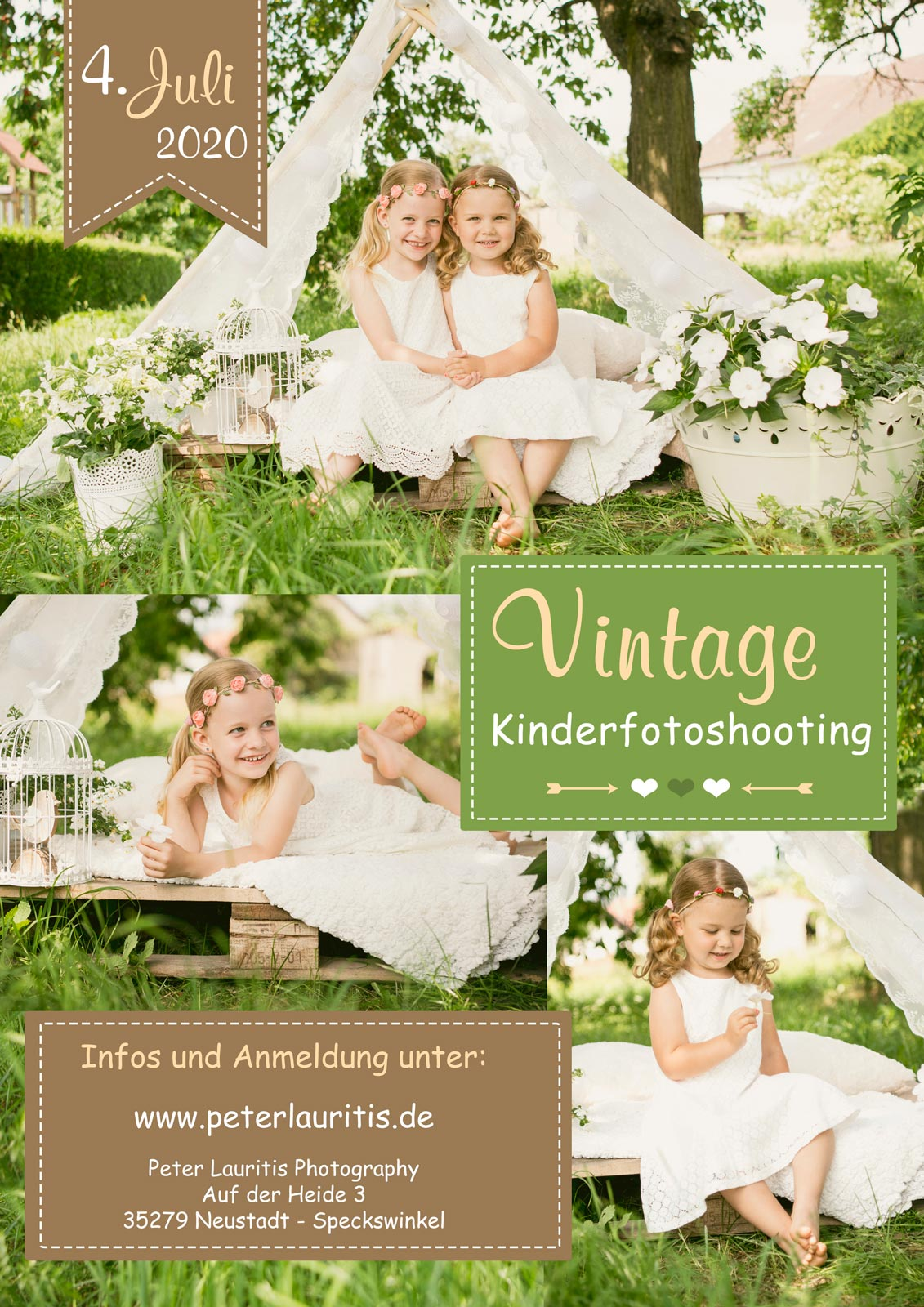 fotoaktion vintage kinder fotoshooting