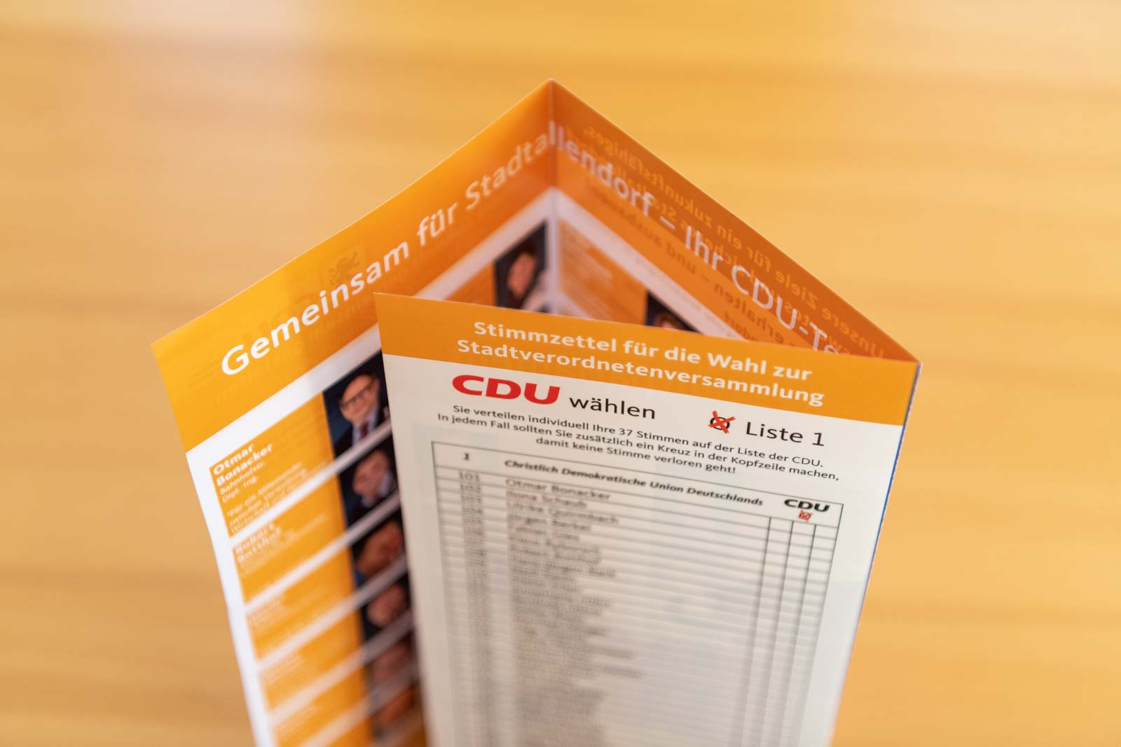 cdu stadtallendorf kommunalwahl fotos plakate flyer