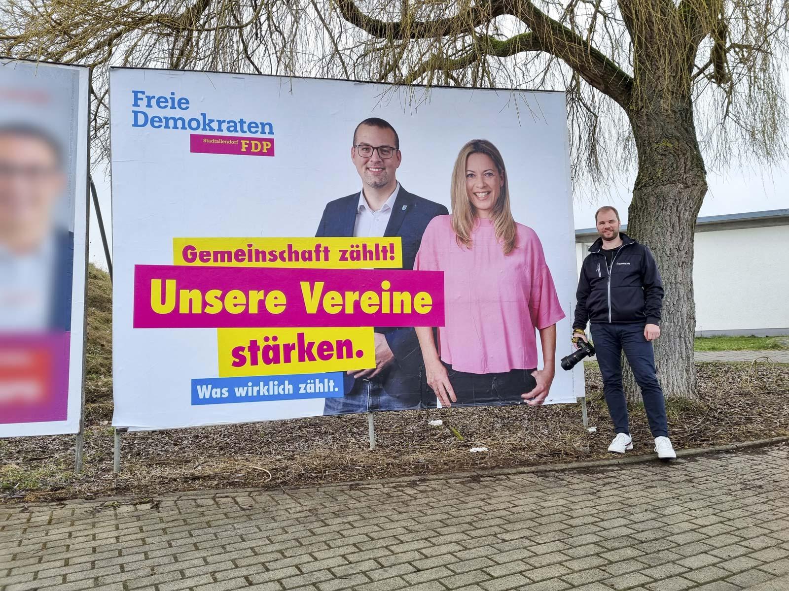 FDP Stadtallendorf dominik runge alexandra baader