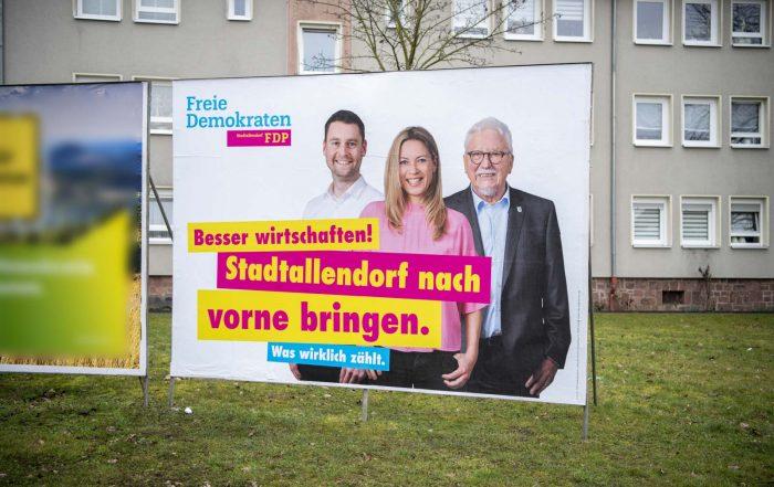 FDP Stadtallendorf tobias koch alexandra baader
