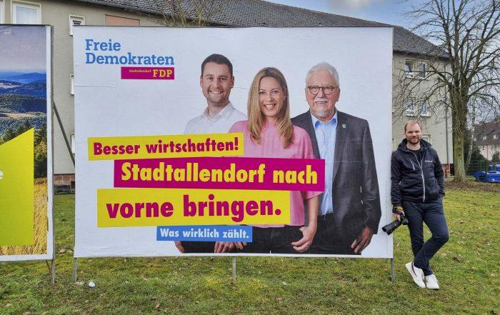 FDP Stadtallendorf tobias koch lufwig bachhuber alexandra baadeer